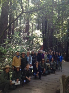 Park Academy class at Muir Woods, June 17, 2014.