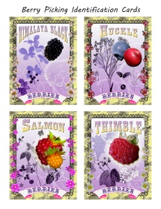 Redwood National Park's Berry Identification Cards show you which berries to salivate over. Download the cards here.
