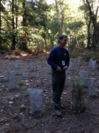 Park Ecologist Jeff Frey.