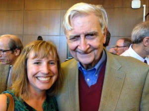 With my conservation hero, Professor E.O. Wilson.