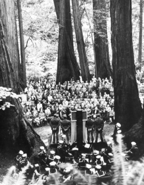 United Nations at Muir Woods 70 Years Ago