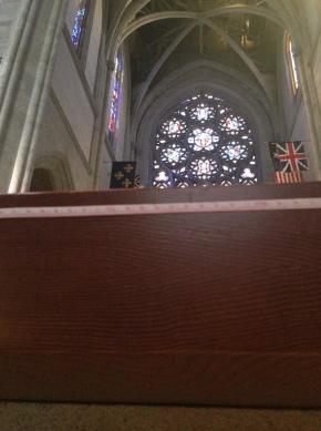 Origins of Grace Cathedral's RedwoodAltar