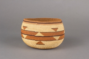 Intricate Design with Ferns in Woven Baskets